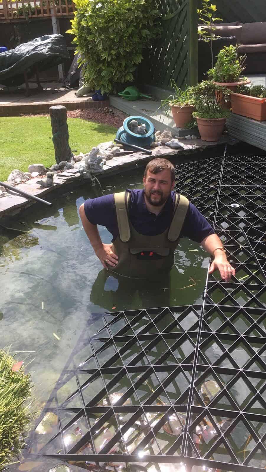 Metal Pond Covers Pond Safety Ltd